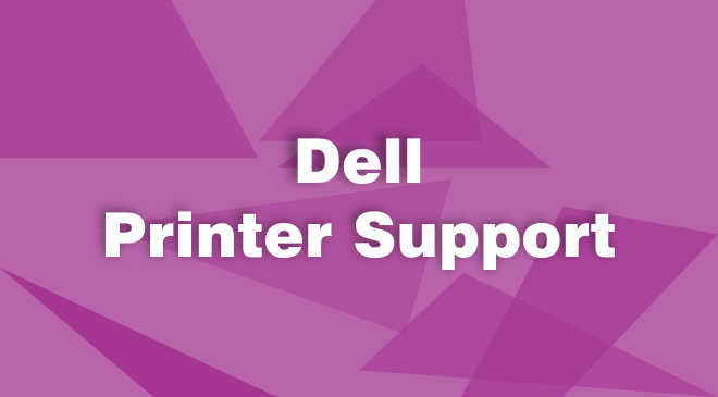 Dell printer customer support number