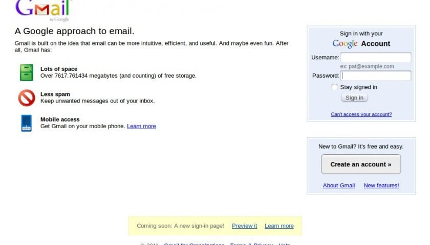 Gmail Loading Slow