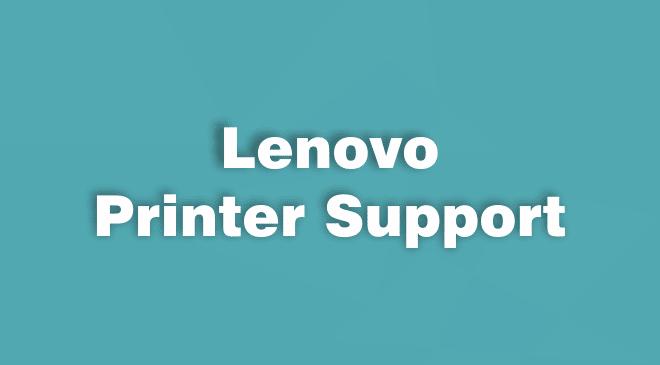 Lenovo Printer Support