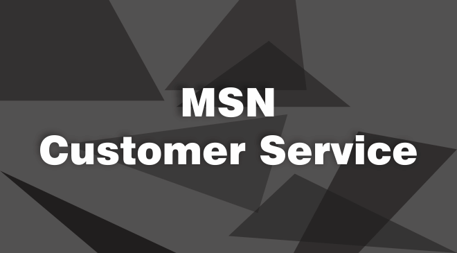MSN Email Support