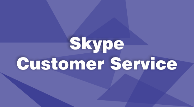Skype Customer Service