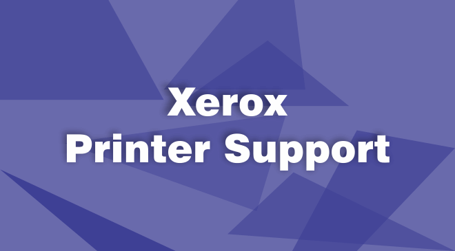 Xerox Printer Support