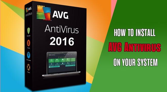 install avg antivirus