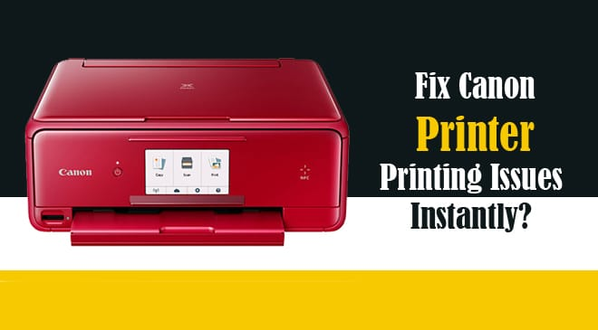 canon printer not printing