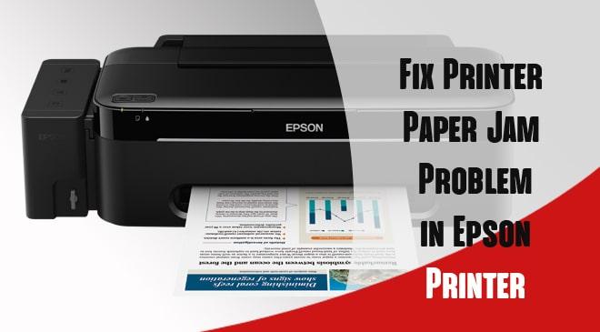 Epson Printer Paper Jam