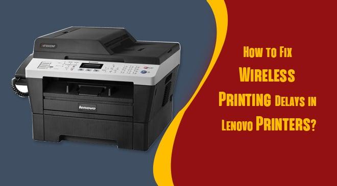 wireless printer slow to print