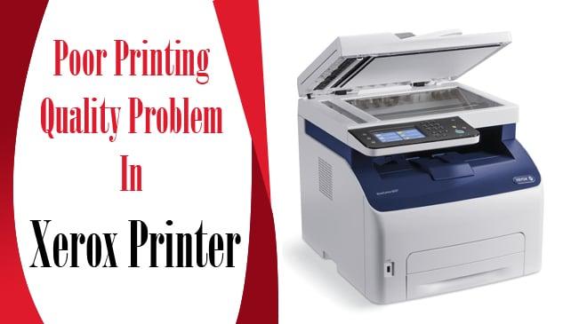 laser printer poor print quality