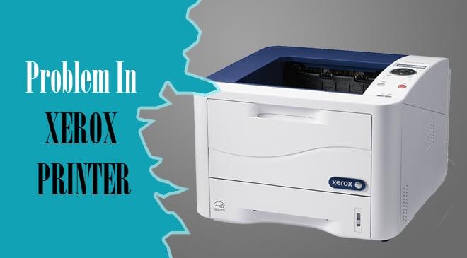 Xerox Printer Not Printing