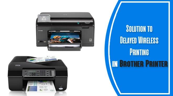 Network Printer Delay