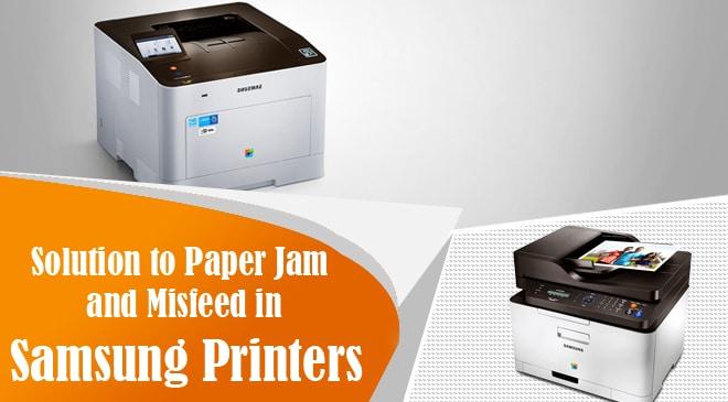 samsung printer paper jam