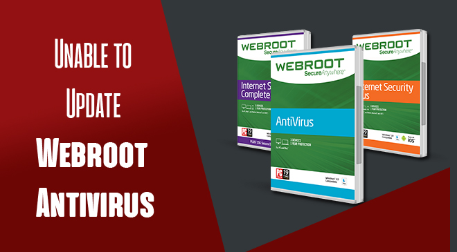 how to update webroot antivirus