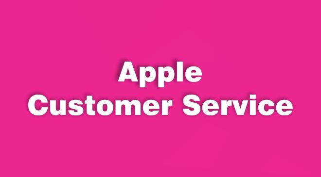 Apple Computer Customer Service