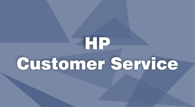 HP Computer Customer Service
