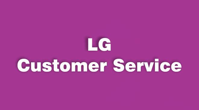 LG Customer Service