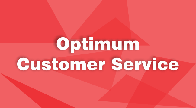 optimum customer service