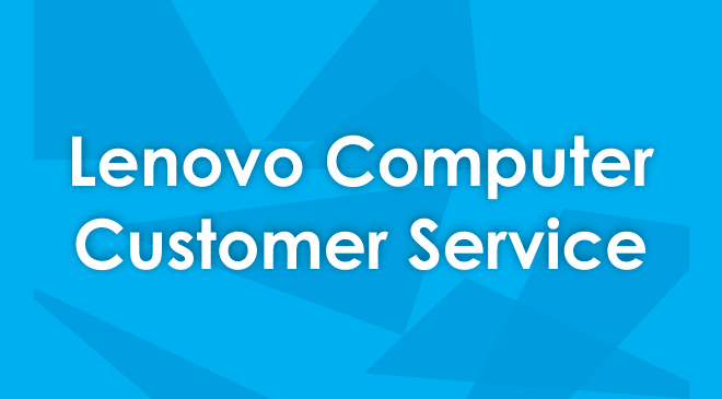 Lenovo customer service
