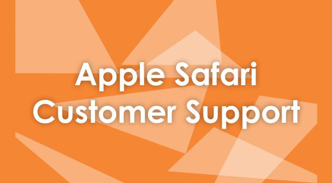 Apple Safari Customer Service