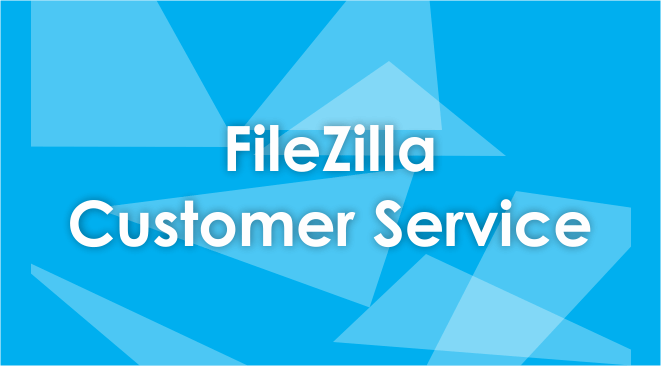 filezilla customer service