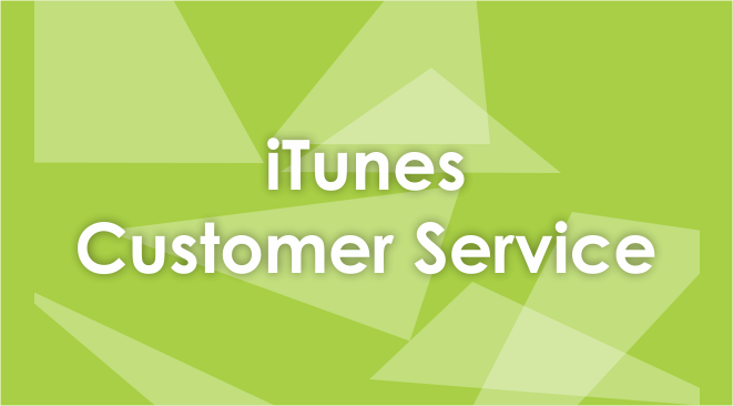 itunes customer service number