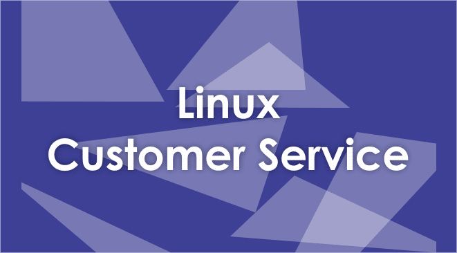 linux customer service number