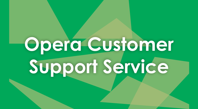 Opera Customer Service