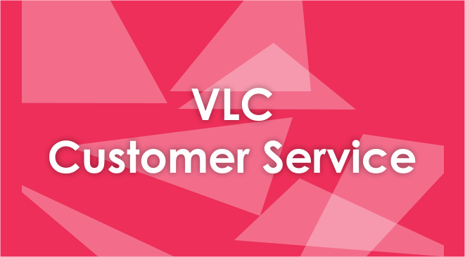 vlc customer service number