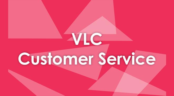 vlc customer service number