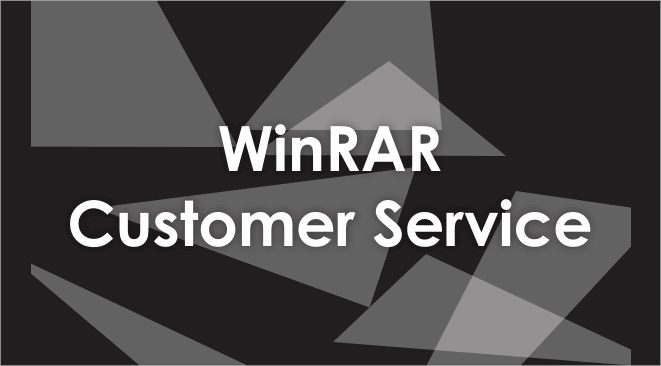 winrar customer service number