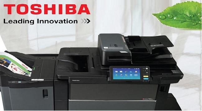toshiba printer support