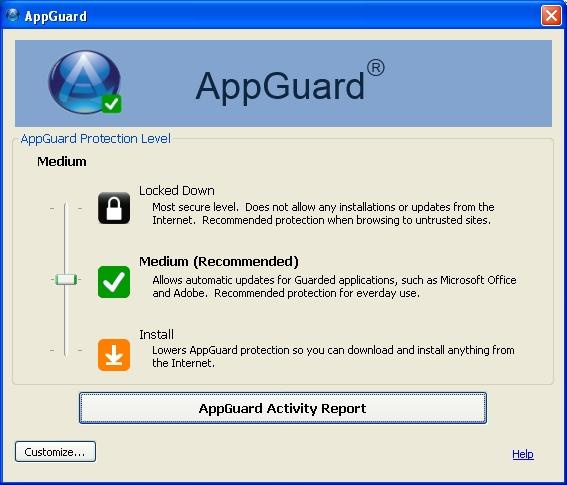 AppGuard Customer Support