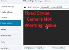 """How To Fix """"Skype Camera Not Working"""" Issue"""