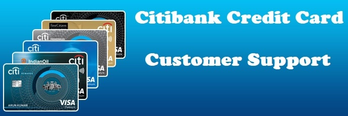 Citibank Credit Card Customer Support