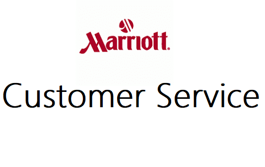 Marriott customer service