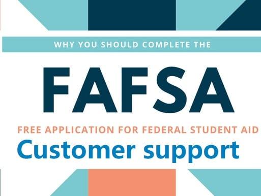 FAFSA customer service