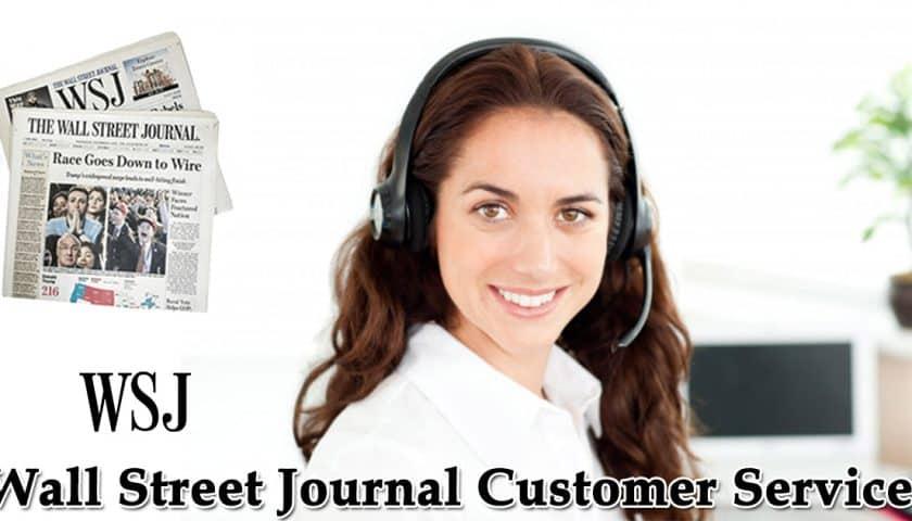 WSJ customer service